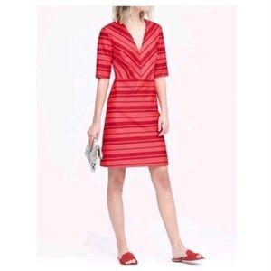 Banana Republic - Red Striped Dress